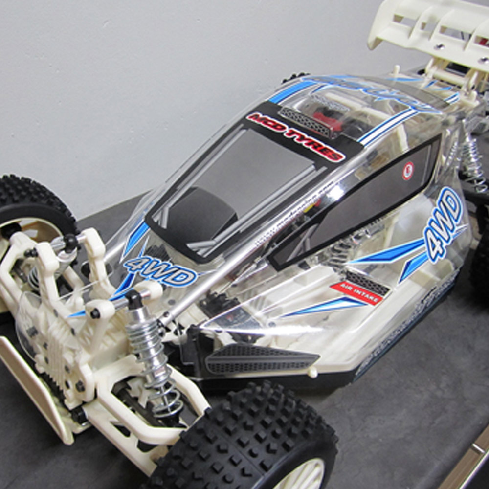 3D Model of radio Controlled car